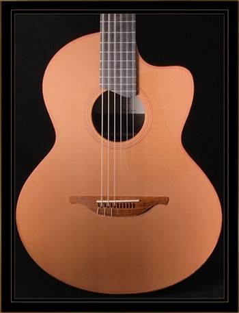 Lowden Lowden Jazz S-25J in Indian Rosewood with Cedar Top