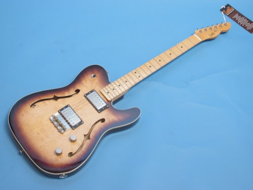 LSL Soledad Deluxe Two Tone Sunburst, Brand New, Hard, $2,844.00