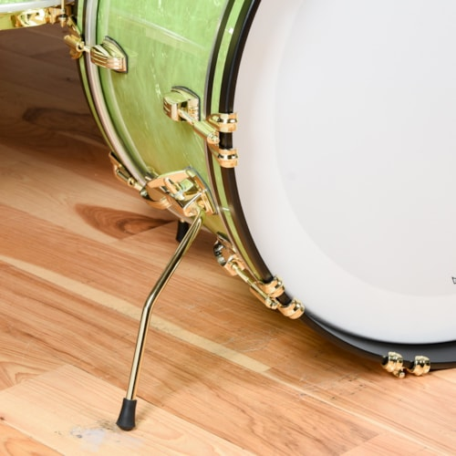 Ludwig 110th Anniversary Classic Maple 13/16/22 3pc. Drum Kit Emerald Pearl w/Brass Hdw