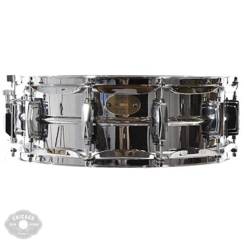 Ludwig 5x14 Chrome Over Brass Snare Drum