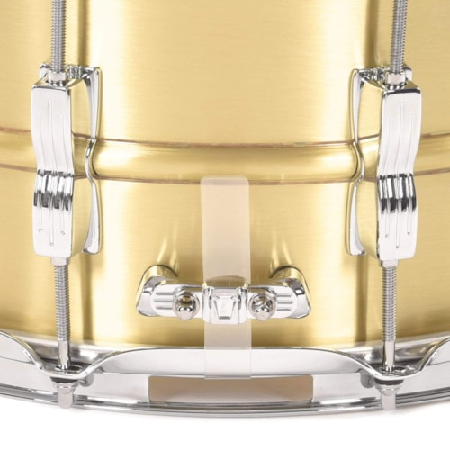 Ludwig 6.5x14 Acro Brushed Brass Snare Drum