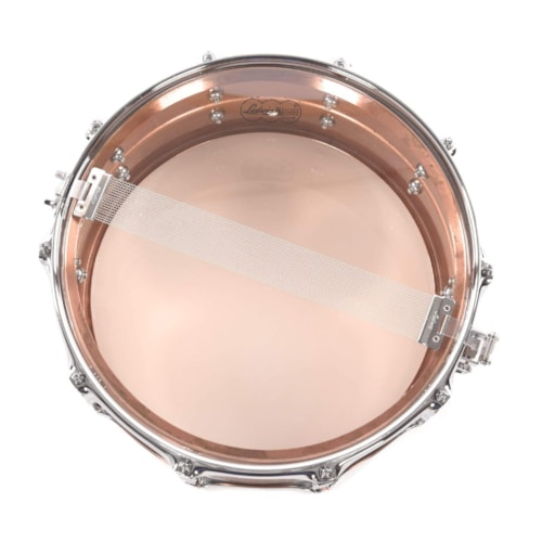 Ludwig 6.5x14 Acro Brushed Copper Snare Drum