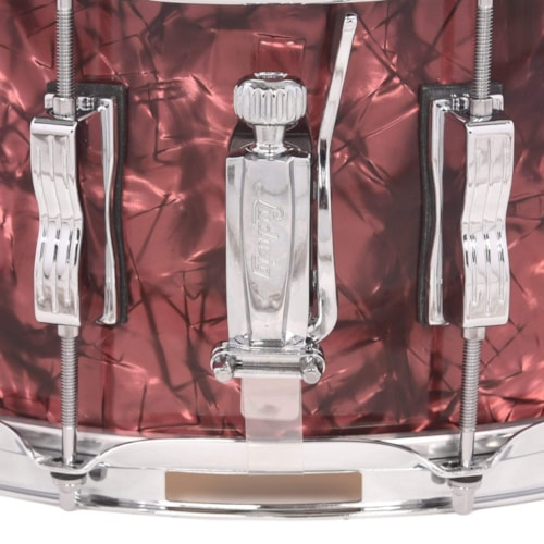 Ludwig 6.5x14 Classic Maple Snare Drum Burgundy Pearl