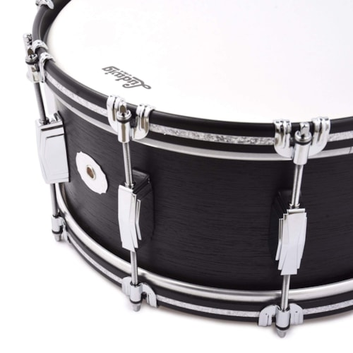 Ludwig 6.5x14 Legacy Mahogany Snare Drum Black Cat Limited Edition