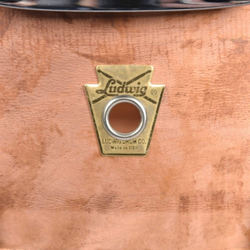 Ludwig 8x14 Raw Copper Phonic Snare Drum