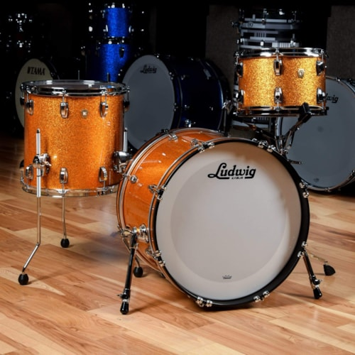 Ludwig Classic Maple 12/14/20 3pc. Drum Kit Gold Sparkle