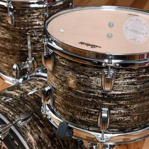 Ludwig Classic Maple Chicago Series 12/14/18 3pc. Drum Kit Bamboo Strata
