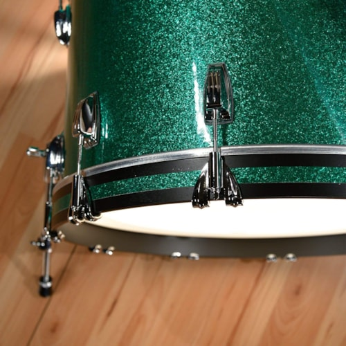 Ludwig Classic Maple 13/16/22 3pc. Drum Kit Green Sparkle