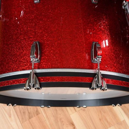 Ludwig Classic Maple 13/16/24 3pc. Drum Kit Red Sparkle