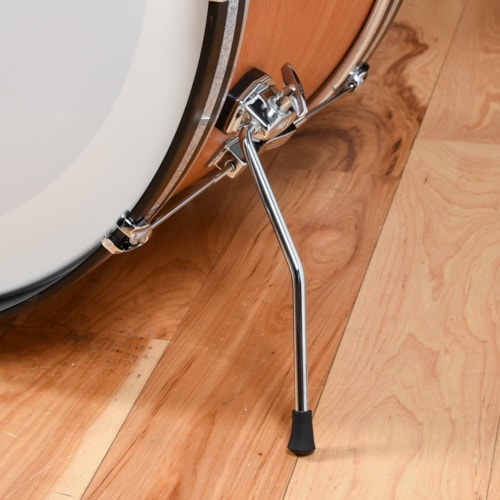 Ludwig Club Date 13/16/22 3pc. Drum Kit Mahogany Satin Lacquer w/Bowtie Lugs & White Interior (CDE Exclusive)