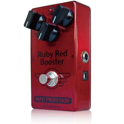 MAD PROFESSOR RUBY RED BOOSTER VIDEO DEMO ATTACHED DISPLAY UNIT B STOCK