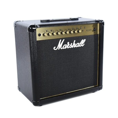 """Marshall MG50GFX 50W 1x12"""" Combo w/4 Programmable Channels, FX, MP3 Input, & Two-Way Footswitch"""