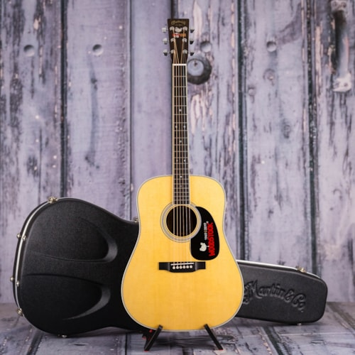 Martin Limited Edition D-35 Woodstock 50th Anniversary Acoustic, Natural