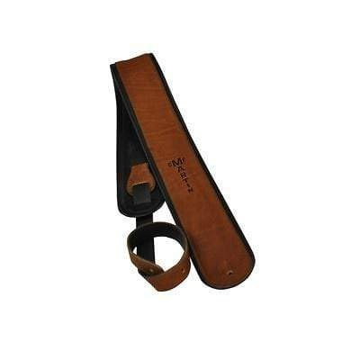 Martin Premium Rolled Leather Guitar Strap Brown