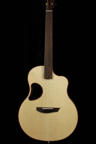 McPherson Madagascar Rosewood with Red Spruce Top and Tree of Life Inlay