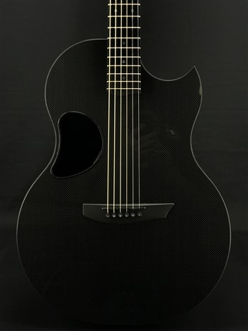 McPherson Sable Carbon Fiber Guitar with Honeycomb Top and Satin Pearl Hardware