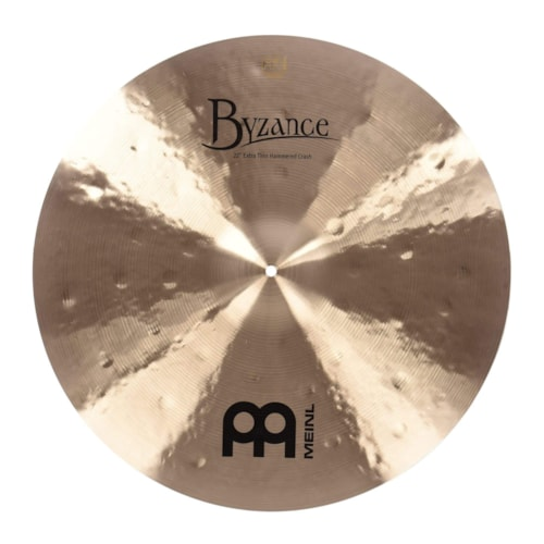 """Meinl 22"""" Byzance Traditional Extra Thin Hammered Crash Cymbal"""