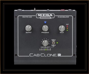 Mesa Boogie CabClone IR 4 Ohm Load Box with IR Cabinet Simulations