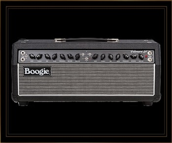 Mesa Boogie Fillmore 50 Head in Black Bronco with Tinsel Grille