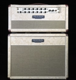 Mesa Boogie Lone Star Classic Head and 1x12 Cabinet in Champagne Floral