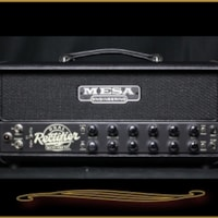 Mesa Boogie Mesa Boogie Recto-Verb 25 Head in Black with Black Grille