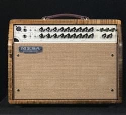 Mesa Boogie Private Reserve Rosette 300 Two:Eight Acoustic Combo with Flame Maple Cabinet and Cinnamon Stain