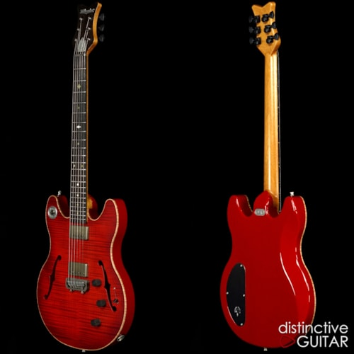 Milwaukee Guitar Co. Chief 317 1934 Red