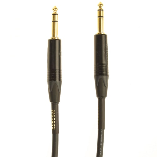 Mogami Gold 1/4 TRS Cable 3ft