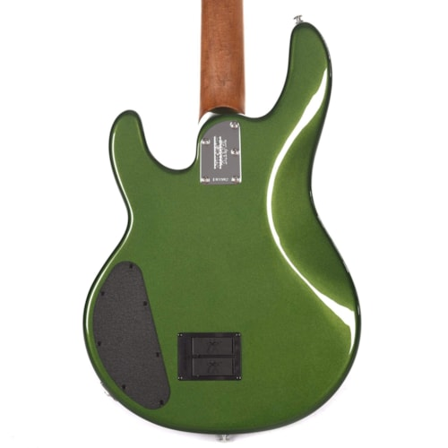 Music Man StingRay 4 Special HH Charging Green w/White Pickguard