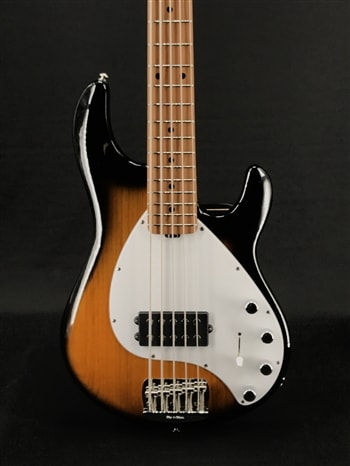 Music Man Stingray 5 Special H in Vintage Tobacco with Roasted Maple Neck and Fretboard