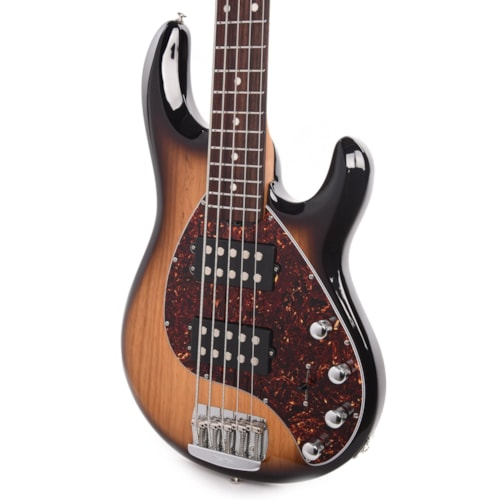 Music Man StingRay5 Special HH Burnt Ends w/Rosewood Fingerboard