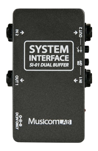 MusicomLAB SI-01 System Interface Dual Buffer for Pedalboards