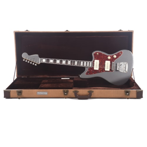 Nash JM-63 Charcoal Frost Light Relic Bound/Blocked w/4-Ply Tortoise Pickguard, Matching Headstock, Lollar Pickups (Serial #CHI436)