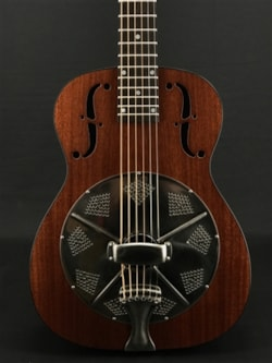 National Reso-Phonic M-14 Roundneck Resonator in Natural