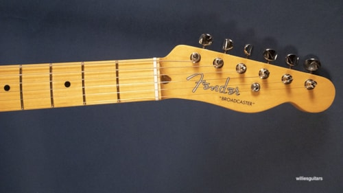 New Fender 70th Anniversary Broadcaster Blackguard Blonde