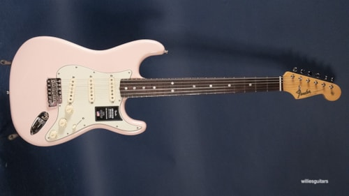 New Fender American Original '60's Stratocaster Shell Pink