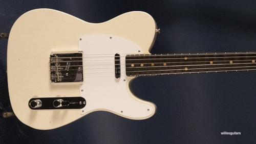 New Fender Custom Shop Jimmy Page Signature Telecaster White Blonde