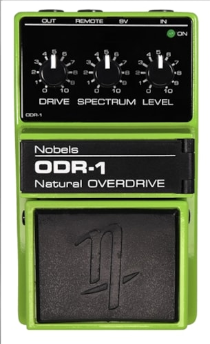 Nobels ODR-1 Overdrive Pedal with Bass Cut Switch