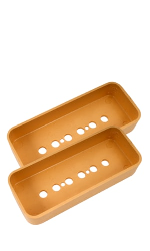 NOS Original Gibson P-90 Pickup Covers, Cream