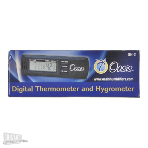 Oasis OH-2 Digital Hygrometer with Case Clip