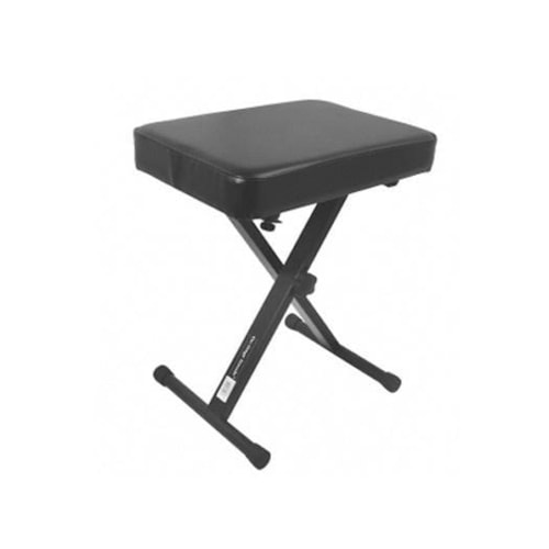On Stage Stands Three-Position X-Style Keyboard Bench