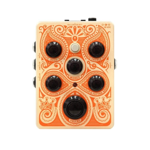 Orange Acoustic Pedal Acoustic Preamp & EQ