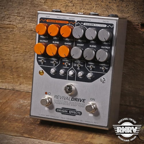 Origin Effects RevivalDRIVE Ghosting Overdrive