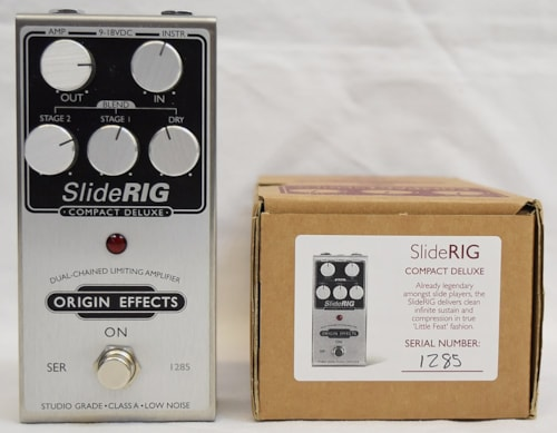 Origin Effects Slide Rig Compact Deluxe Compressor