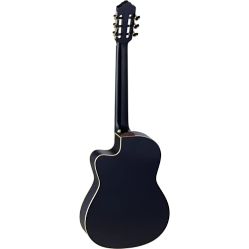 Ortega Performer Series Solid Spruce Top RCE138-T4BK, Black, Right-handed, Acoustic-Electric