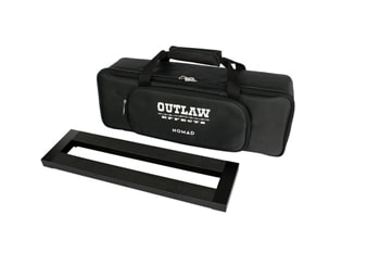 Outlaw Effects Outlaw Effects Nomad S128 Compact Rechargeable Powered Pedalboard