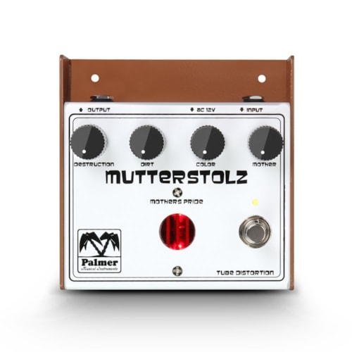 Palmer MUTTERSTOLZ White Tube Distortion Pedal ECC83