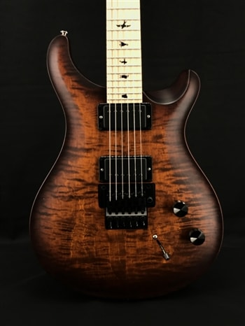 Paul Reed Smith Dustie Waring DW CE24 Floyd Limited Edition in Burnt Amber Smokeburst