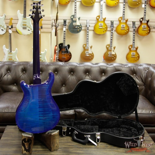 2018 PRS - Paul Reed Smith PRS HB2 Hollowbody II Piezo Flame Maple Top & Back Rosewood Fingerboard Faded Blue Wrap Burst Faded Blue Wrap Burst