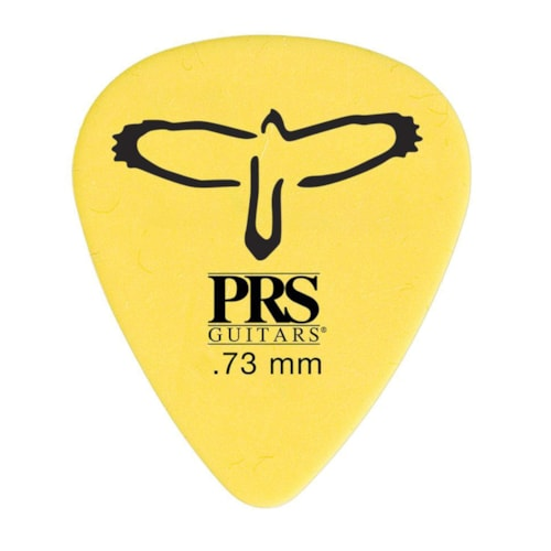 PRS Delrin Picks Yellow 0.73mm 12-Pack